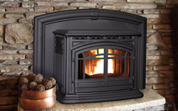 M55 Cast Iron Fireplace Insert