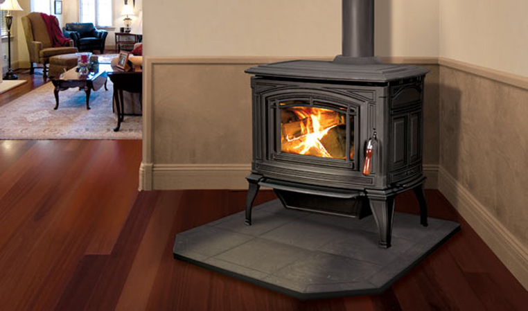The Boston 1200 Wood Freestanding Stove
