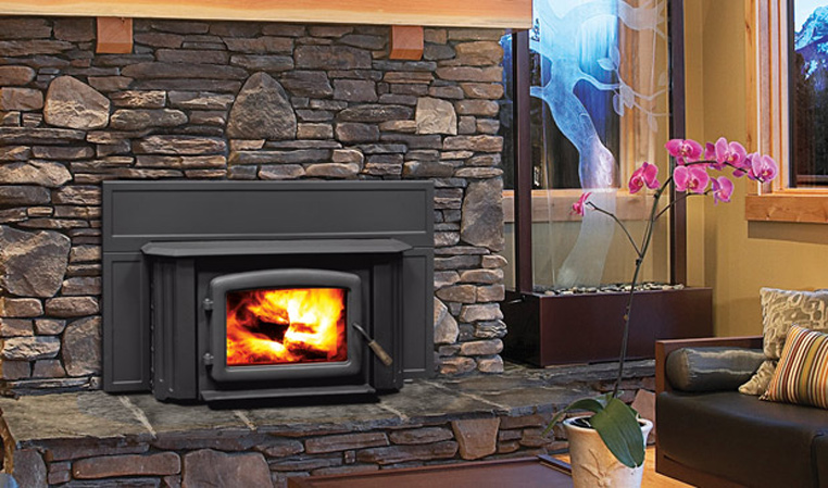 The Kodiak 1200 Wood Fireplace Insert