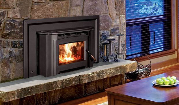 The Venice 1200 Wood Fireplace Insert