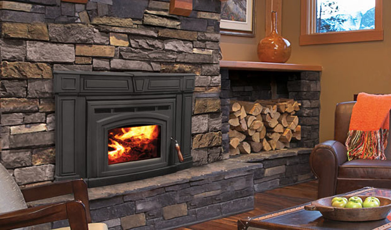 The Cabello 1700 Wood Fireplace Insert