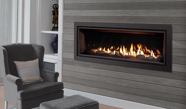 Enviro Products Gas C44 Linear Gas Fireplace