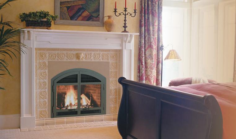 The DV42DX Gas Fireplace