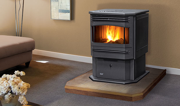 The Meridian Pellet Freestanding Stove