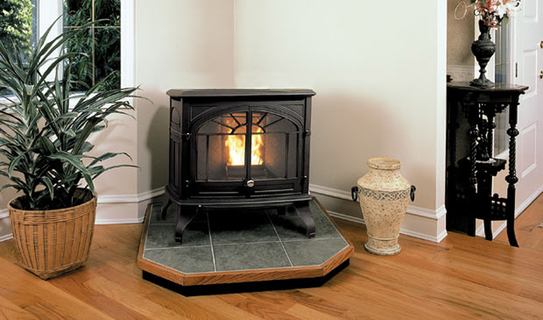 The Empress Pellet Freestanding Stove