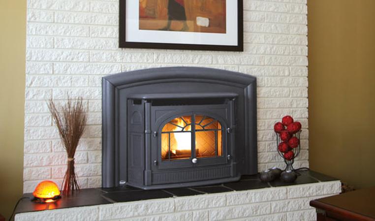 The Empress Pellet Fireplace Insert