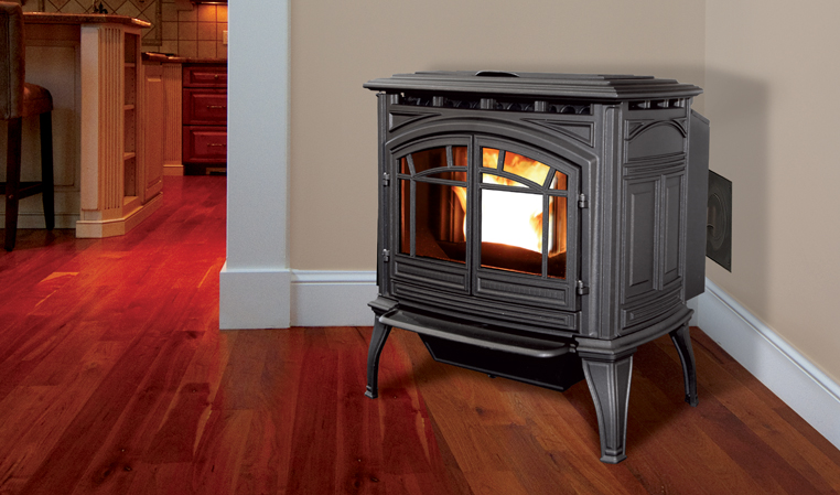 The M55 Cast Iron Pellet Freestanding Stove