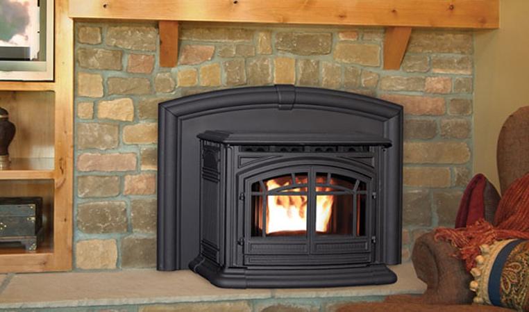 Enviro Products Pellet M55 Cast Iron Fireplace Insert
