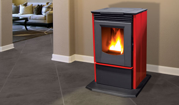 The P4 Pellet Freestanding Stove