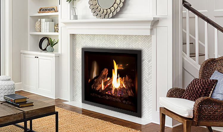 Enviro Products Gas Q3 Gas Fireplace