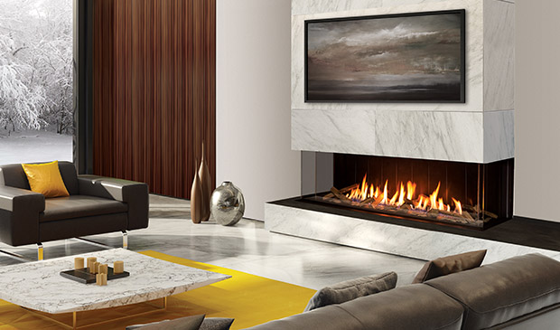 The U70 Gas Fireplace