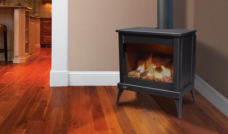 The Westport Steel Gas Freestanding Stove